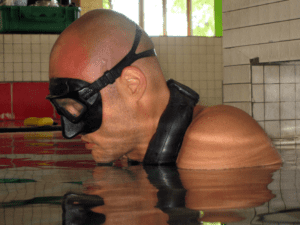 neck weight freediving