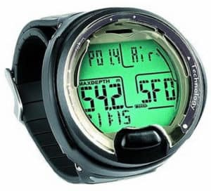 Dive computer watches