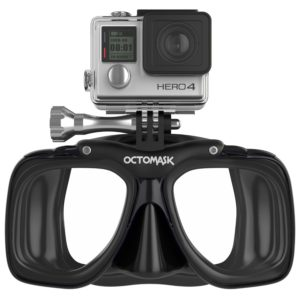 Octomask GoPro Hero4 and Hero3+ Dive Mask for Scuba Diving and Snorkeling