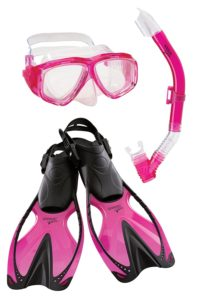 Speedo Jr. Adventure Mask/Snorkel/Fins Set