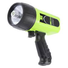 pistol grip dive light
